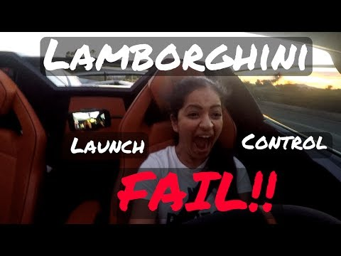 HOW NOT TO DO LAUNCH CONTROL IN A LAMBORGHINI SV ROADSTER