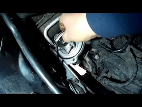 Mercedes a140 water pump removal without dropping the engine