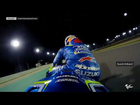 2018 #QatarGP - Suzuki in action