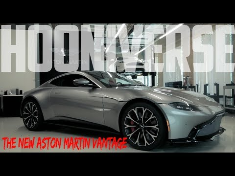 This is the all-new Aston Martin Vantage