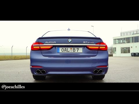 ALPINA B7 0-260KPH & Launch Control - BMW 2017