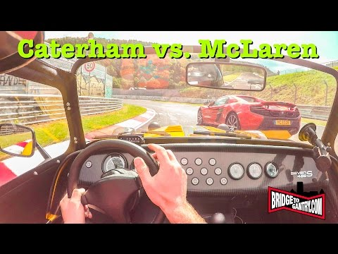 Caterham 485S & McLaren 650S on the Nürburgring Nordschleife