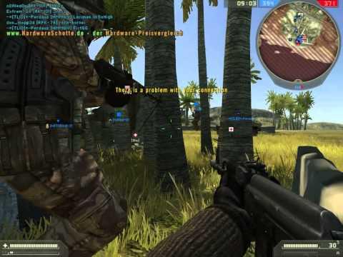 Battlefield 2 DEMO: Your connection to the server has been lost