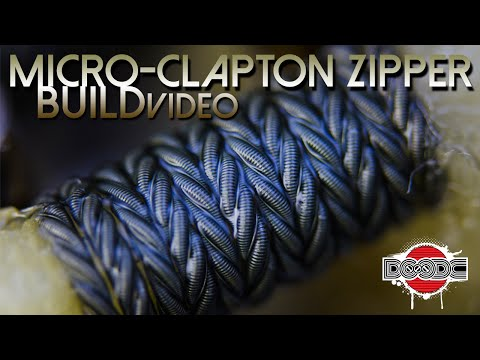 perfect clapton coil that builds or wraps itself