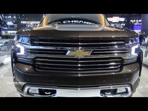 2019 Chevrolet Silverado High Country - Exterior And Interior Walkaround - 2018 Detroit Auto Show