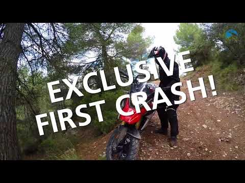 REVIEW: 2017 BMW G 310 GS on & off road test with crash
