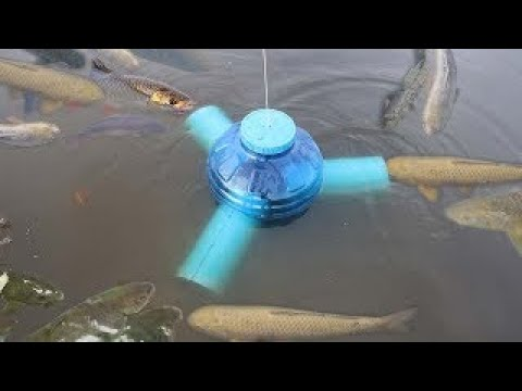 Smart Girl Make Fish Trap Using PVC And Plastic Bottle To Catch A Lot of Fish