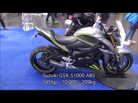 The Suzuki 2017 Motorcycles