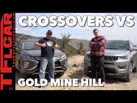 2018 Jeep Compass vs Mitsubishi Eclipse Cross vs Gold Mine Hill Off-Road Review