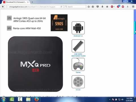 H96 Max Firmware Upgrade To Android 7 1 - Step by Step