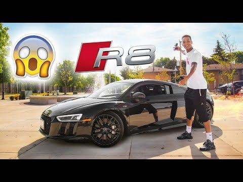 The BRAND NEW 2018 Audi R8 V10 PLUS Review!! From A Tall Guys Perspective..