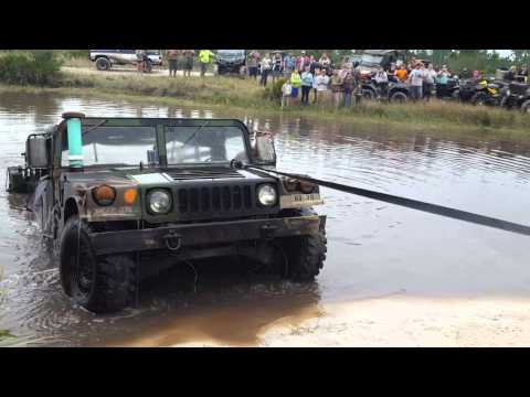 Hummer Submerged Underwater - Part 2