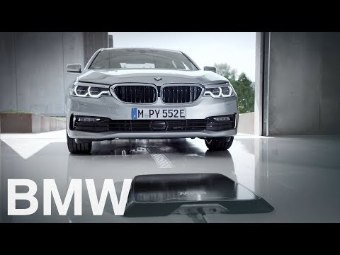 BMW Wireless Charging. Car charging in 3,5 hrs. without a cable.