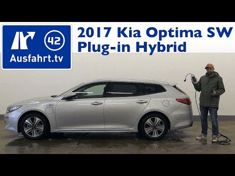2017 Kia Optima Sportswagon 2.0 GDi Plug-in Hybrid  - Kaufberatung, Test, Review