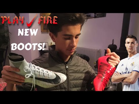 NIKE SUPERFLY BRILLIANCE Vs NIKE FIRE VAPOR! Box Opening My new boots + Update
