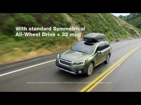 The Newly Redesigned 2018 Subaru Outback
