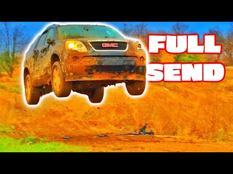 GMC VS FORD BEST Car Jumps!