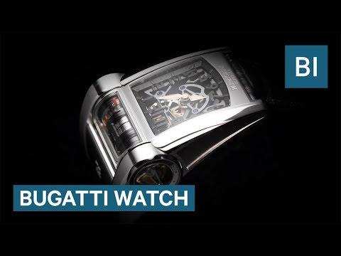 Watch inspired by the Bugatti Chiron