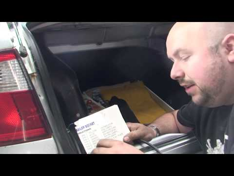 bodgit and leggit garage how to wire up electrics on towbar (WITHOUT can bus wiring)