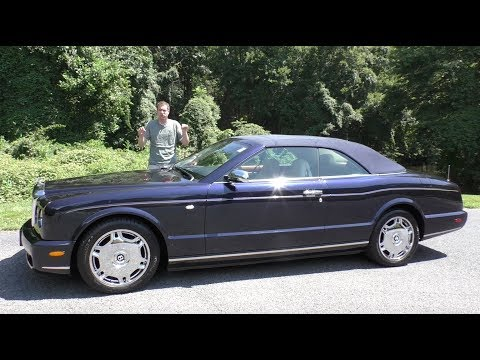 The 2007 Bentley Azure Has Lost $300,000 in Value Over 10 Years