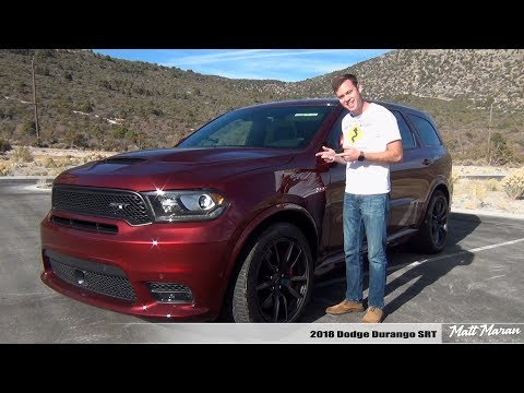 Review: 2018 Dodge Durango SRT - The 3-Row Muscle SUV
