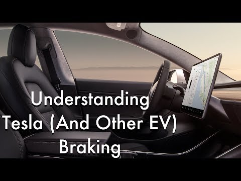 What You Need To Understand About Tesla Model 3 Braking -- Or Any EV...
