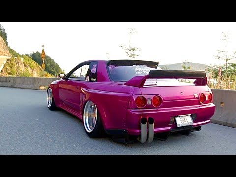 550 HP Nissan Skyline R32 GTR on Air Ride | Perfect in Pink