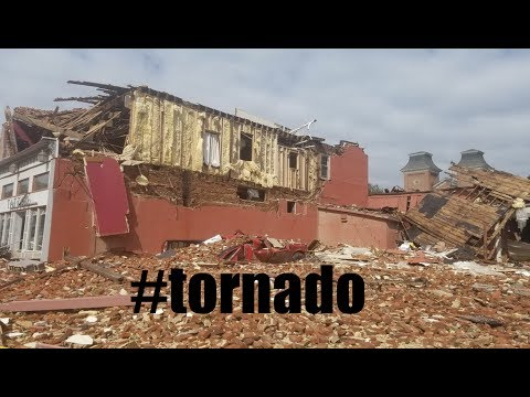 "Tornadic Storm rips through OLD Iowa town - ""Standing when Abraham Lincoln was President"""