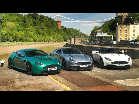 DB11 vs Vanquish S vs V12 Vantage S: Aston Martin Shootout