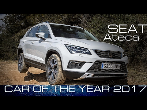 New SEAT Ateca - car of The Year 2017
