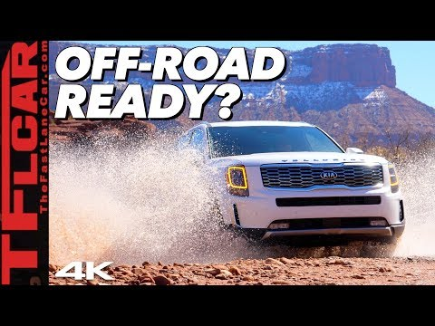 Is Bigger Always Better? We Review the 2020 Kia Telluride On and Off-Road To Find Out!