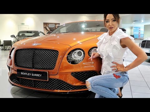 COLLECTING MY NEW BENTLEY!!😱😍 | Luxury Car VLOG | Sophie Shohet