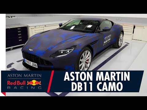 Aston Martin DB11 Gets A Red Bull Racing Wrap
