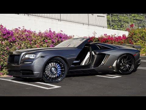 #RDBLA - Rolls Royce Dawn Transformation, LA Auto Show, Aventador Sounds and More!!