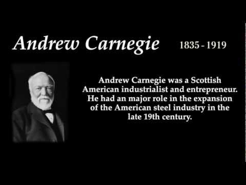 a biography of andrew carnegie a scottish american industrialist