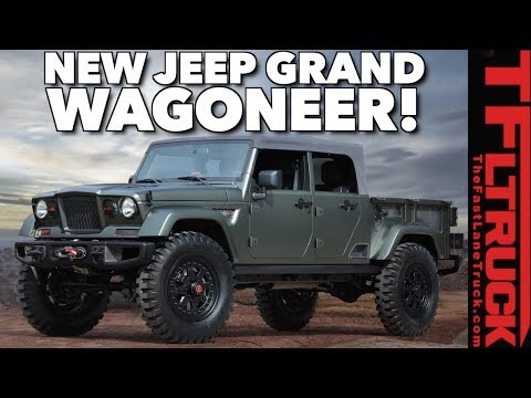 Leaked: New 2019 Jeep Grand Wagoneer and Ask TFLtruck