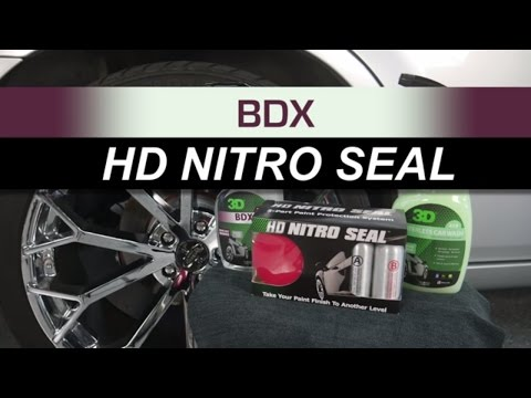 How to detail fancy Wheels with HD Nitro Seal for auto detailing and polish