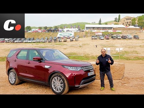 Land Rover Discovery 2017 SUV |  Prueba / Test / Review en español | Land Rover Party | coches.net
