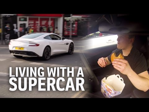 Living With An Aston Martin Vanquish Supercar