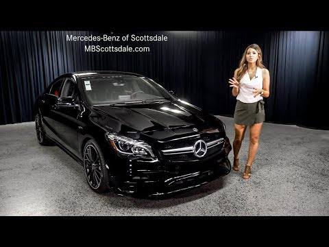 A consumer perspective of the 2018 Mercedes-Benz CLA AMG® 45 Coupe from Mercedes Benz of Scottsdale