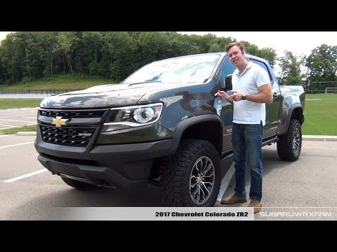 Review: 2017 Chevrolet Colorado ZR2 V6