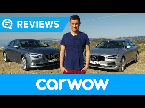 Volvo V90 and Volvo S90 2017 Review | Mat Watson Reviews