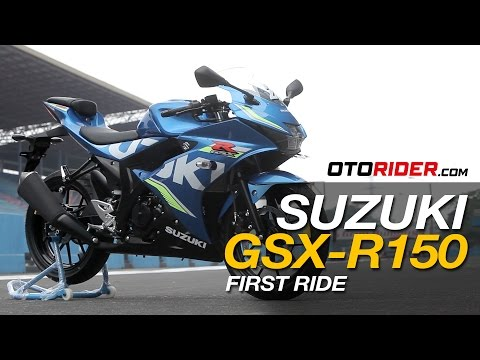 Suzuki GSX-R150 2017 First Ride Review - Indonesia | OtoRider