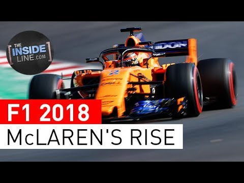 F1 NEWS 2018 - McLAREN: ON THE UP [THE INSIDE LINE TV SHOW]