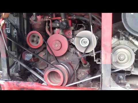 How Daewoo Bus engine run