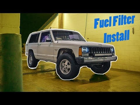 NEW Fuel Filter for the Jeep Cherokee (XJ)