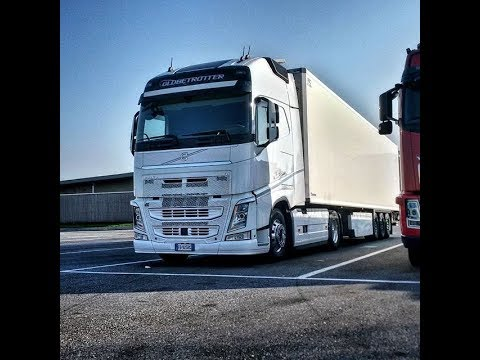 Trucker Jay in the UK: Final Video part 1 Volvo FH cab tour