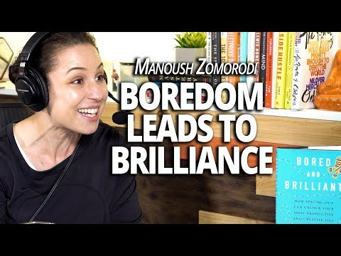 How Boredom Leads to Brilliance with Manoush Zomorodi and Lewis Howes