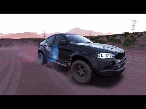 Need for Speed Payback | BMW X6M Offroad Build