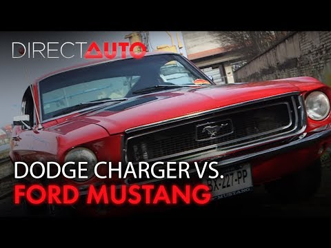 DUEL : FORD MUSTANG VS DODGE CHARGER